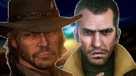 John Marston Vs Niko Bellic- Gaming All Star Rap Battles 10