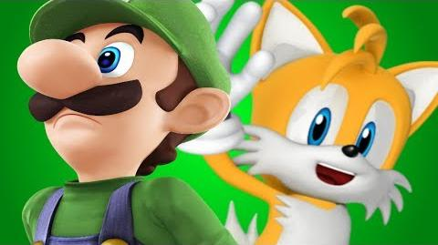 Luigi Vs Tails- Gaming All Star Rap Battles Season 2