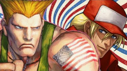(4TH OF JULY) Guile Vs Terry Bogard- Gaming All Star Rap Battles