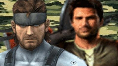 Solid Snake Vs Nathan Drake REMASTERED- Gaming All Star Rap Battles 1 YEAR ANNIVERSARY