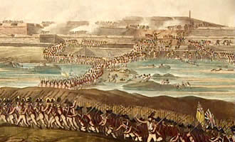 British take Fort in Indiaas