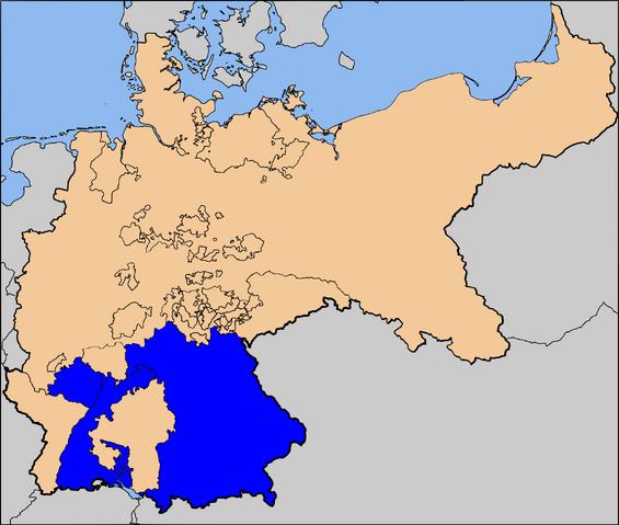 File:Bavarian-Württemberg Unification Map.png