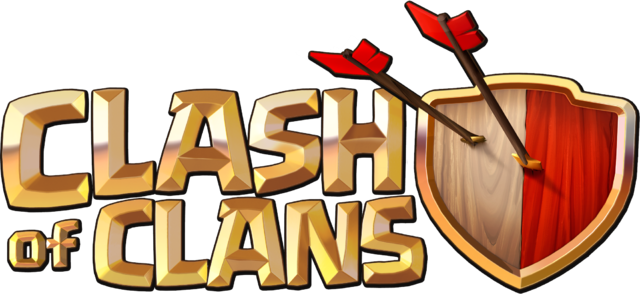 File:Clash of Clans Logo 2013.png