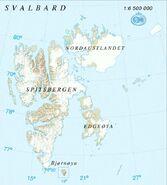 Map - Svalbard