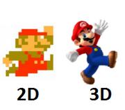 2D Mario & 3D Mario