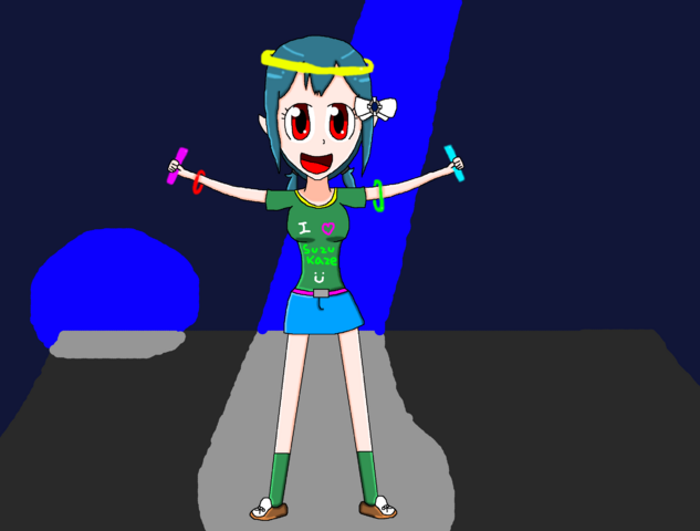 File:Partying Akari.png