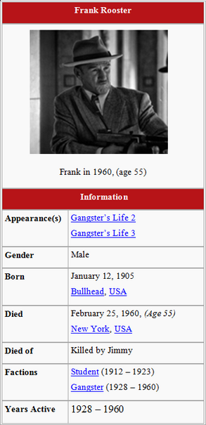 Frank Rooster