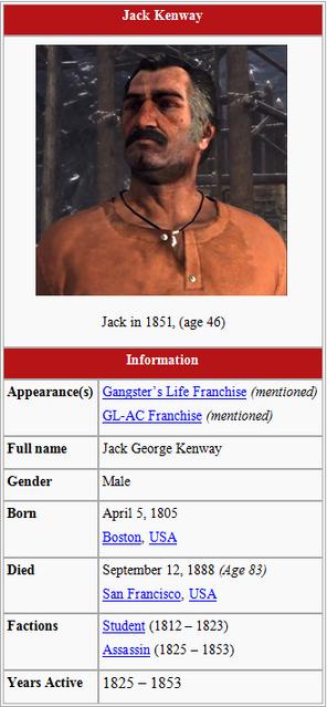 Jack Kenway