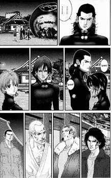 Gantz everyone looks at Kurono with mixed emotions