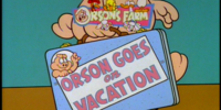 Orson Goes On Vacation