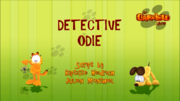 Detective Odie Title Card