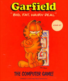 Garfield big fat hairy deal edge d7