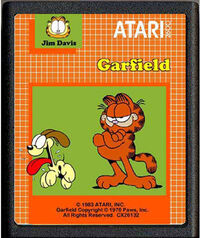 Garfield atari prototype