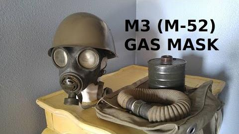 Yugoslavian M3 (M-52) Gas Mask