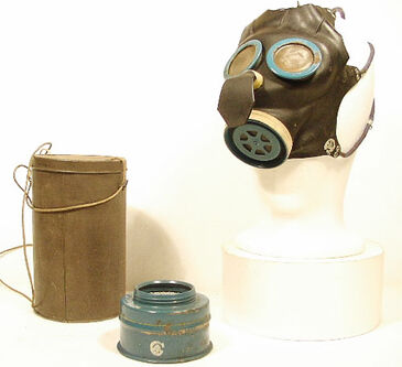Canadian Mickey Mouse Gas Mask