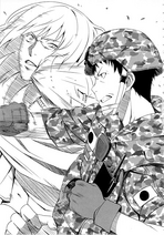 Itami slugging Zozal Light Novel Volume 3 Chapter 7