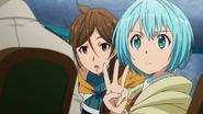 Lelei La Lalena informs Yōji Itami they are married