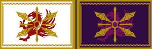 Empire's flags - Civil War
