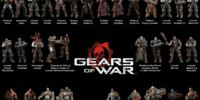 Figuras NECA de Gears of War