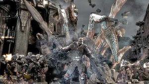 Human-locust war