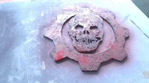 Gears of War - Making the Crimson Omen Sign