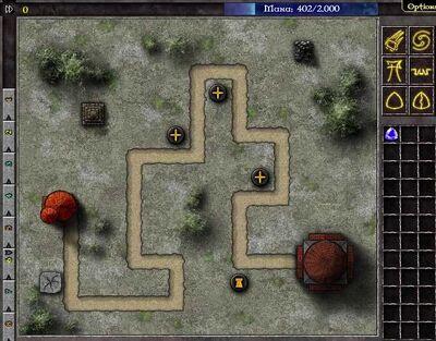 Gemcraft Chapter 0 Level 2 Map