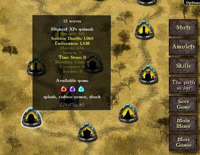 Gemcraft Chapter 0 Map 2