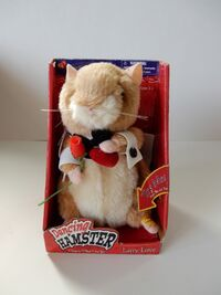 Gemmy 2003 ''Larry Love'' Dancing Hamster NEW