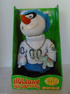 Gemmy Hip-Hoppers Holiday Sing Animated Plush Snowman