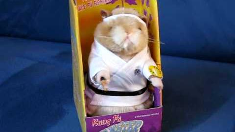 "Dancing Hamster Collection KUNG FU ""Kung Fu Fighting"""