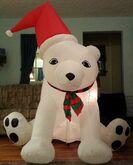 Gemmy inflatable ploar bear