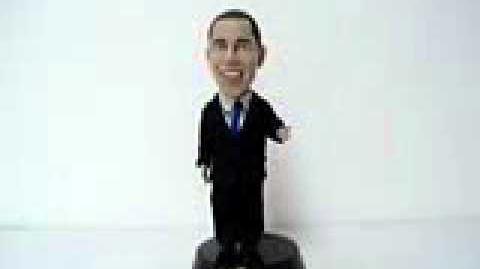 President Barack Obama Animated Figure