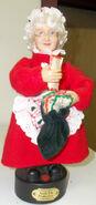 Gemmy animated christmas figure mrs.claus 2