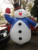 2003 Gemmy 8ft Lighted Airblown Inflatable Christmas Snowman