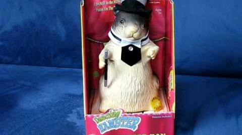 "Dancing Hamster Collection Classic DAPPER DAN ""Puttin On The Ritz"""