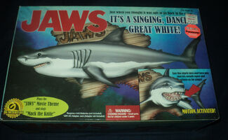 JAWS singing shark