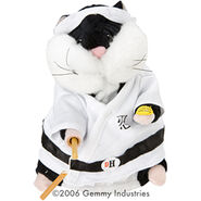 Mini Dancing Hamsters-Kung Fu Jr (White)
