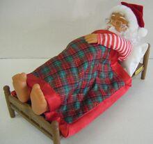 Gemmy animated snoring santa 3