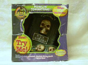 Howlin' tombstone