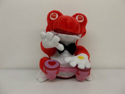 Gemmy Animated Frog Playing Bongo Drums Singing Cant Buy Me Love Toy