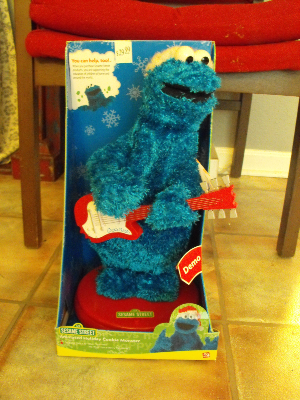 Animated Holiday Cookie Monster | Gemmy Wiki | FANDOM powered by Wikia