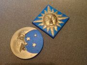 Gemmy Animated Sun and Moon Wall Hanging I Can See Clearly And Amore