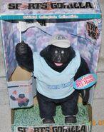 Mucical Sports UNC Gorilla Cheering, Dancing to music Tar Heel!!!