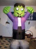 Gemmy 8' Frankenstein Monster Halloween Airblown Inflatable