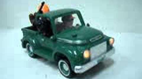 Gemmy animated DOG-GONE truck