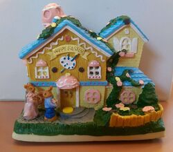 1996 Easter Eggstravaganza Gemmy Industries Musical Easter House