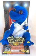 90's Frogz animated singing dancing sings La Vida Loca
