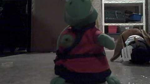 Kung fu turtle (Red robed version)