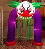 Gemmy Prototype Halloween Scary Clown Inflatable Airblown