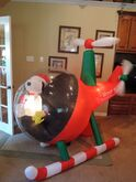 Gemmy inflatable snoopy in helicopter